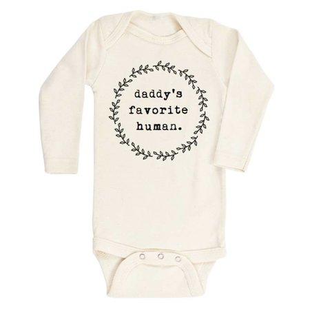 Tenth & Pine Daddy's Favorite Human- Long Sleeve Onesie