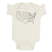 Michigan Love Onesie- Natural