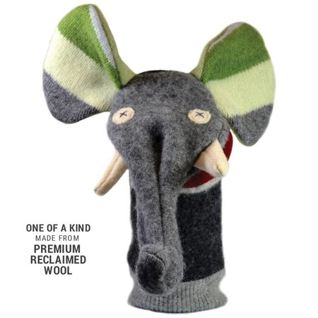 Cate and Levi Reclaimed Wool Puppet