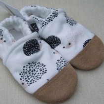 Organic Cotton Slippers Hedgehog