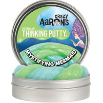 Crazy Aaron's Glow Thinking Putty Mystifying Mermaid 4""