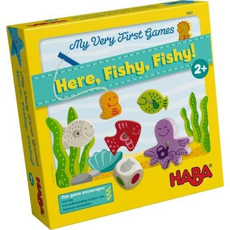 Haba Here, Fishy, Fishy: My Very First Game by HABA