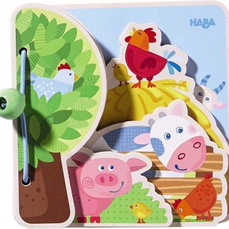 Haba Farm Friends Baby Book by HABA