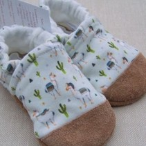 Cotton Slippers Llama (Small Scale)