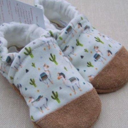 Snow & Arrow Cotton Slippers Llama (Small Scale)