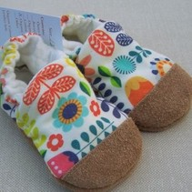 Cotton Slippers Sweedish Floral
