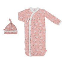 Cherry Blossom Model Magnetic Gown & Hat Set (NB-3m)