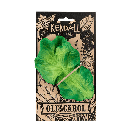 Oli & Carol Kendall the Kale Rubber Teether