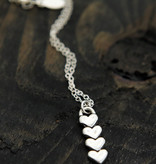 """The Vintage Pearl Hearts Forever 18"""" Necklace"""