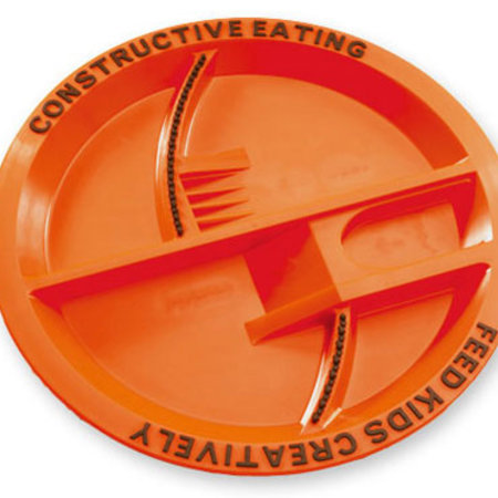 Constructive Eating Constructive Eating Construction Plate