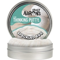 Crazy Aaron's Glow Thinking Putty Speckled Egg 4""