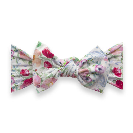 Baby Bling Printed Knot Bow