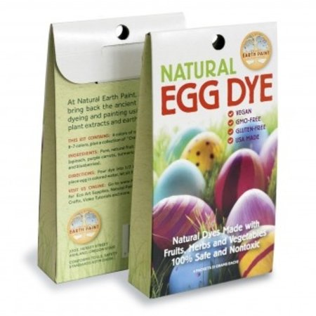 Eco-Piggy Earth Paint Egg Dye Kit