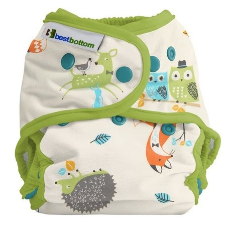 Best Bottom Diapers Best Bottom Cotton - Hedgie Love (Limited Edition)