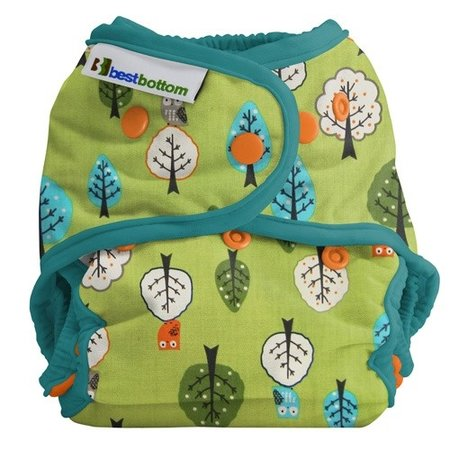 Best Bottom Diapers Best Bottom Cotton - Family Tree (Limited Edition)