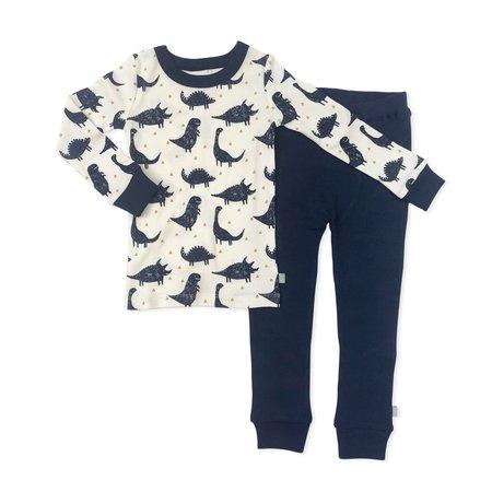 Finn + Emma Organic Cotton Dino Pajamas