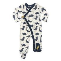 Organic Cotton Dino Footie