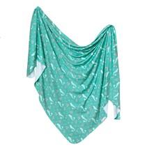 Swaddle Blanket- Coral