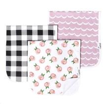 Copper Pearl Burp Cloth Set (3-pack) Rosie