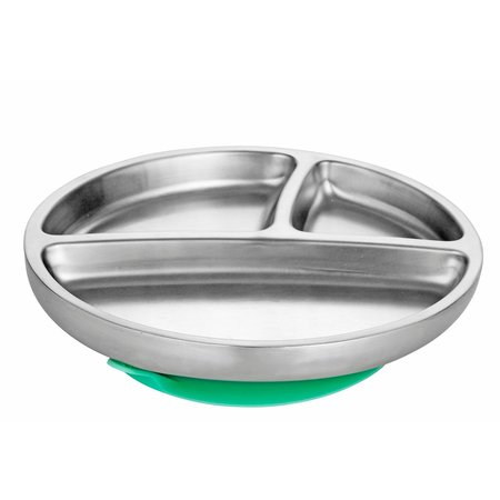 Avanchy Stainless Steel Toddler Plate