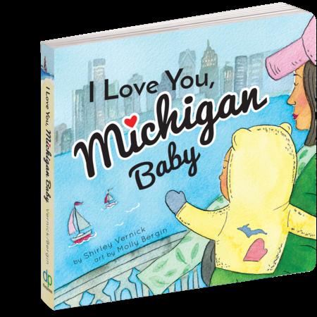Workman Publishing I Love You, Michigan Baby by Workman Publishing