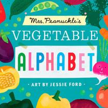 Mrs. Peanuckle's Vegetable Alphabet Board Book