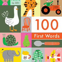 100 First Words Board Book