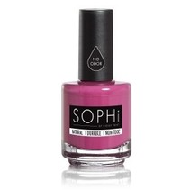 SOPHi Natural Nail Polish Plum-p Up The Volume