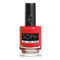 SOPHi Natural Nail Polish Red Bottom Stilettos