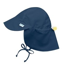 Navy Flap Sun Protection Hat