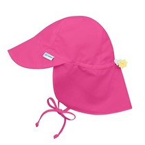 Hot Pink Flap Sun Protection Hat