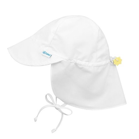 I play White Flap Sun Protection Hat by i play