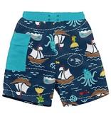 I play Navy Pirate Ship Pocket Trunks w/Reusable Swim Diaper by i play