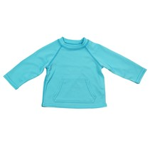 Light Aqua Breathable Sun Protection Shirt