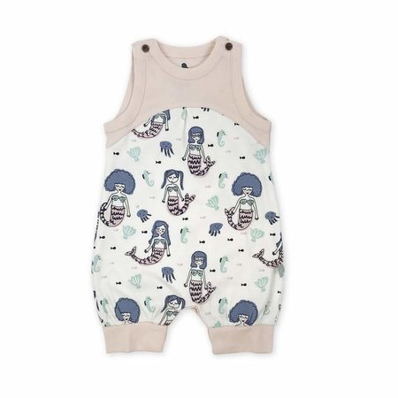 Finn + Emma Organic Cotton Mermaid Tank Romper