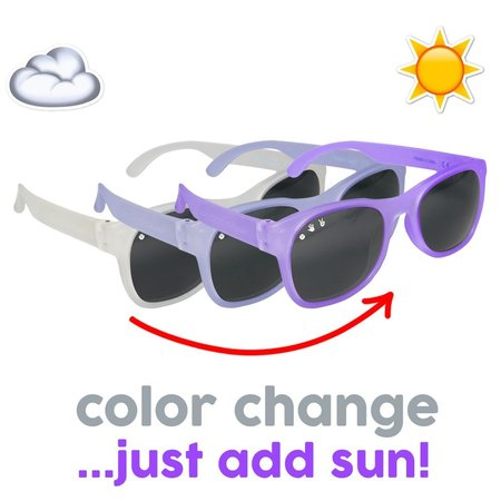 ro sham bo baby Junior (4yr+) Shades Polarized Color Changing Sunglasses by Ro Sham Bo Baby