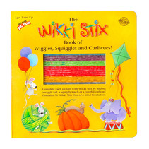 Wikki Sticks Book of Wiggles, Squiggles, & Curlicues