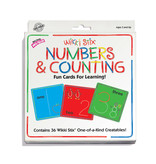 Wikki Stix Wikki Sticks Numbers & Counting Card Set