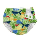 I play Green Sealife Reusable Swimsuit Diaper by i play