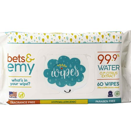 Bets and Emy Bets & Emy Wipes- 60ct.