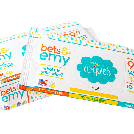 Bets and Emy Bets & Emy Wipes- 10ct Travel Pack