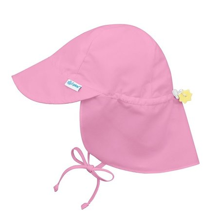 I play Light Pink Flap Sun Protection Hat by i play