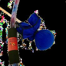 Two Bros Bows: Blue Tie-Dye