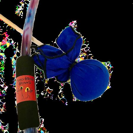 Two Bros Bows Two Bros Bows: Blue Tie-Dye