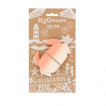 Origami Crab Rubber Teether