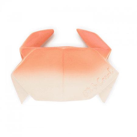 Oli & Carol Origami Crab Rubber Teether by Oli & Carol