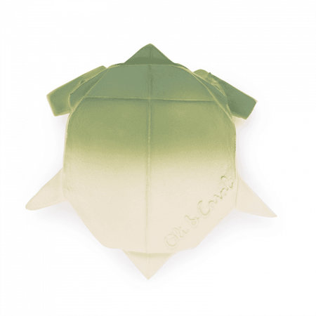Oli & Carol Origami Turtle Rubber Teether by Oli & Carol