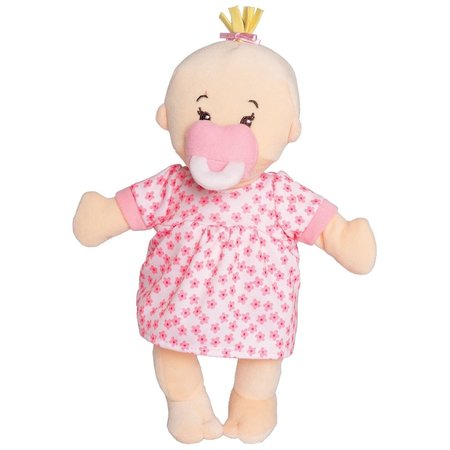The Manhattan Toy Co Wee Baby Stella Doll (Peach) by Manhattan Toy Co.