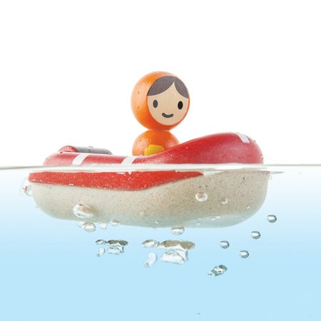 Plan Toys Coastguard Boat by Plan Toys