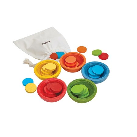 Plan Toys Sort & Count Cups by Plan Toys